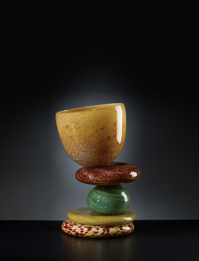 """Vessel Stack 18"""" Earth Amber"""